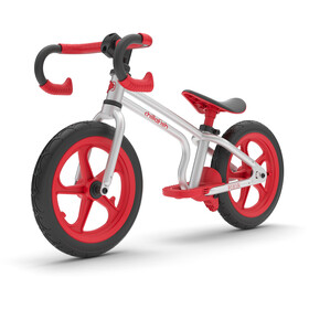 Chillafish Fixie Balance Bike Barn red